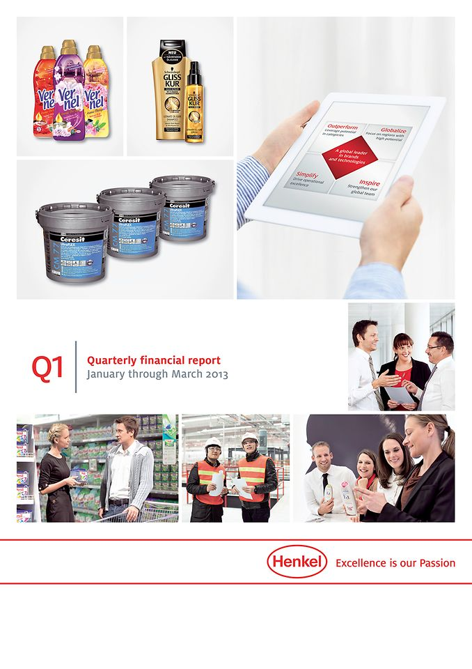 Quarterly Report Q1/2013 (Cover)
