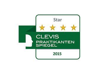 Logo Clevis Praktikantenspiegel