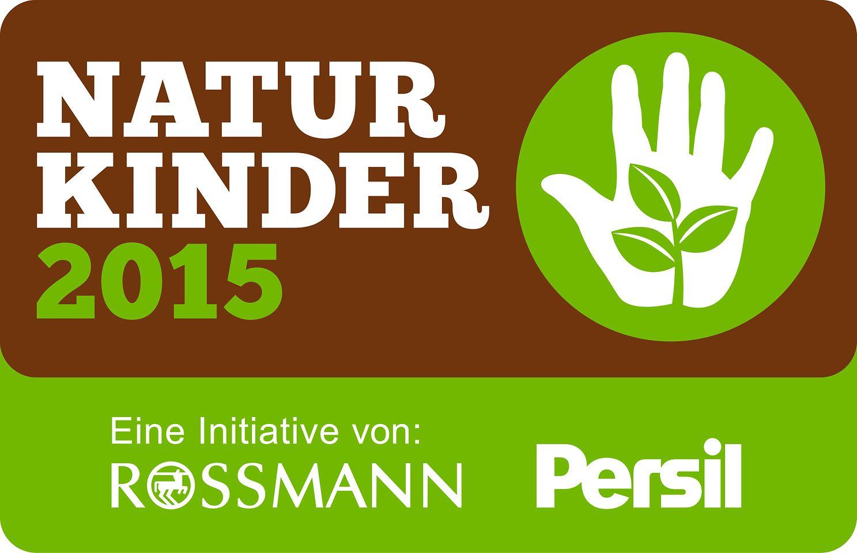 """Logo Initiative """"NaturKinder 2015"""" von Persil und Rossmann"""