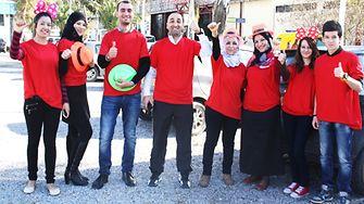 Henkel Algeria charity team