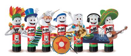 Forma tu propia banda de música con los Pritt Toys