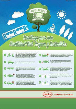 Decálogo para una Movilidad Vial Segura Sostenible