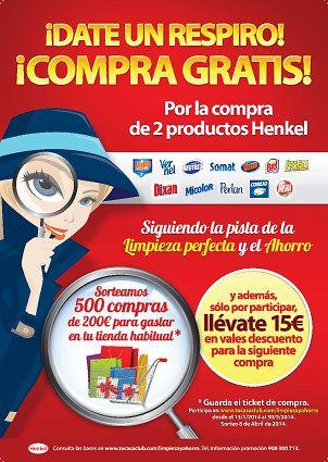 Henkel Ibérica vuelve a apoyar los bolsillos españoles en la cuesta del primer trimestre del año