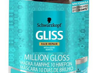 Máscara 10 Dias de Brilho Gliss Million Gloss