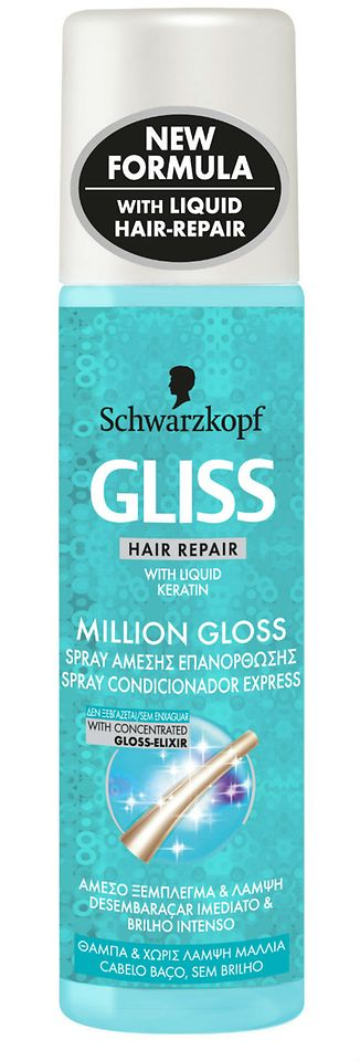 Spray Condicionador Express Gliss Million Gloss