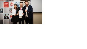 Winners from Poland with their Henkel mentor