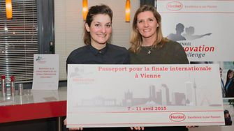 Happy winners from France