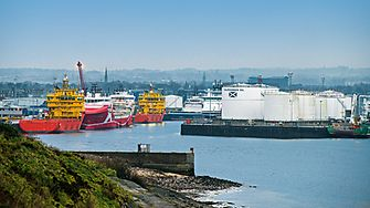 Scottish Grangemouth refinery