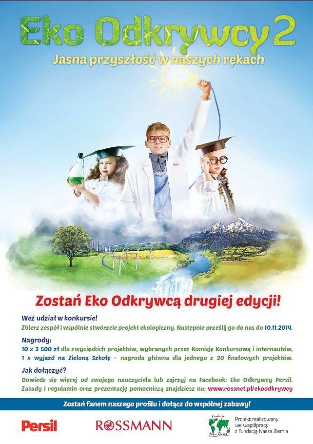 """2014-09-22-Ruszyła II edycja konkursu """"Eko Odkrywcy""""-01"""