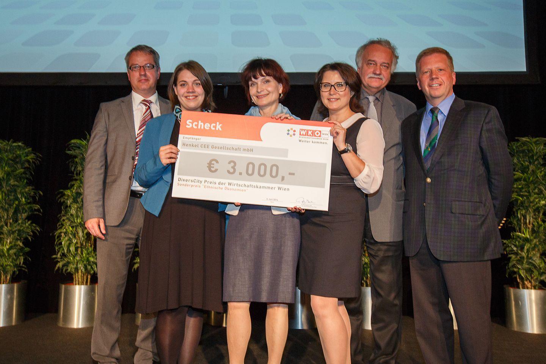 """Henkel CEE wins """"DiversCity"""" Prize 2014"""