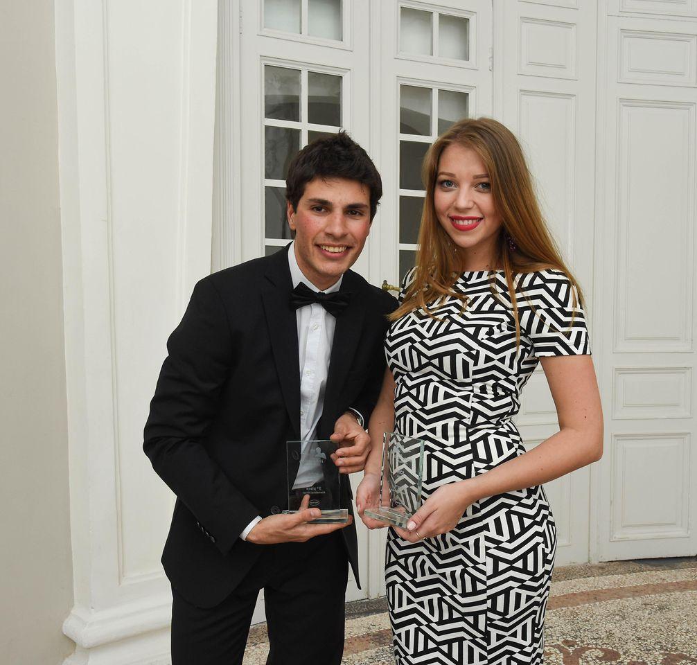 Tommaso Bressa and Iva Mladenovic from team Italy won third priz