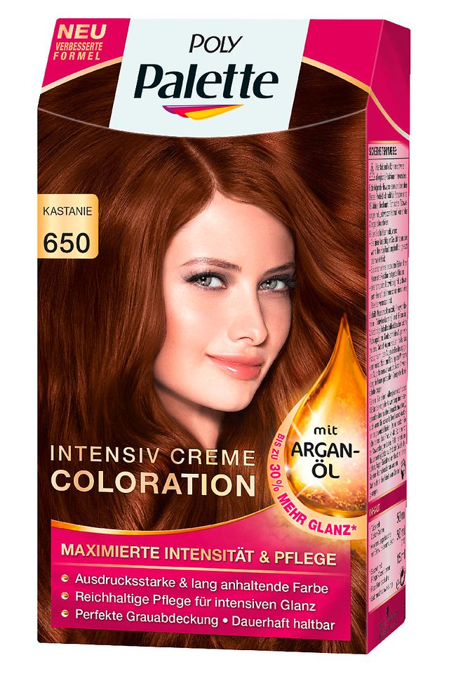 Poly Palette Intensiv Creme Coloration 650 Kastanie