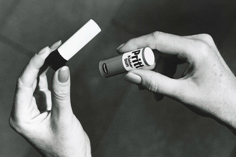 First Pritt stick in 1969