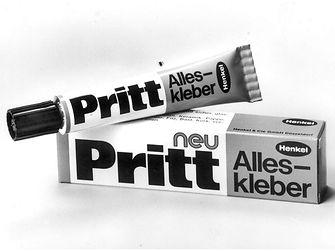 """1972: Pritt """"Alleskleber"""""""