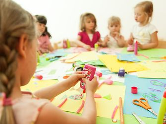 Products from the Pritt family are ideally suited to kids' art and craft activities.