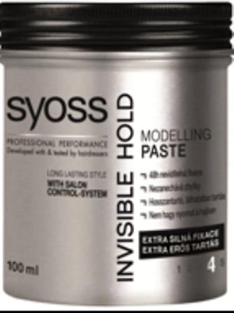 Syoss Invisible Hold Modelovacia pasta