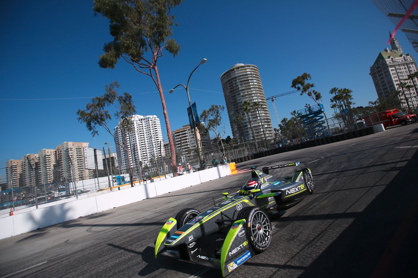 The first championship for formula cars with electric engines