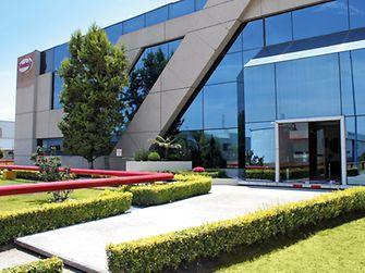 Henkel building in Ecatepec de Morelos, a suburb of Mexico City