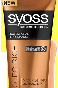 Šampón Syoss Supreme Selection Oleo Rich