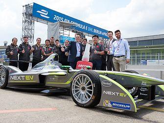 Henkel unterstützt das NEXTEV TCR Team in der Formel E