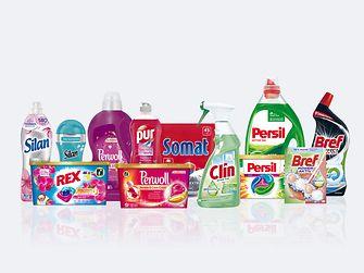 Značky divízie Laundry & Home Care