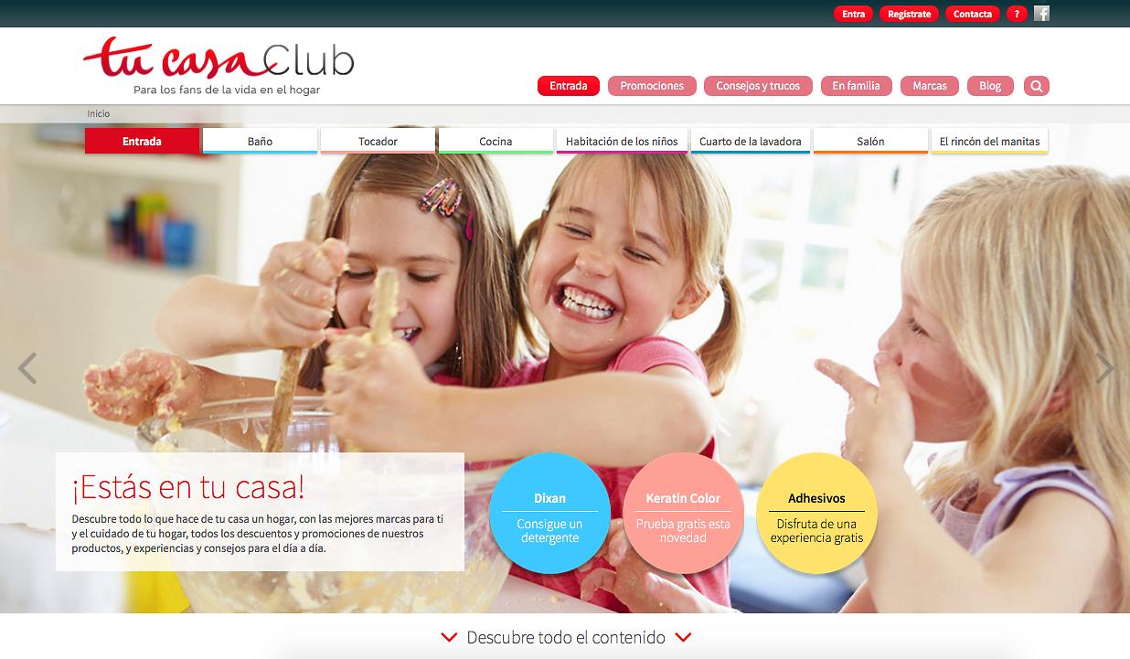 Henkel renueva su portal Tucasaclub.com