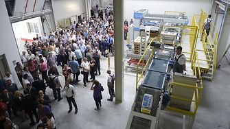 Opening ceremony of the new factory