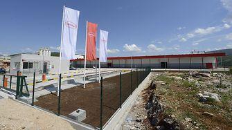 Henkel adhesives factory in Bileća, Bosnia and Herzegovina