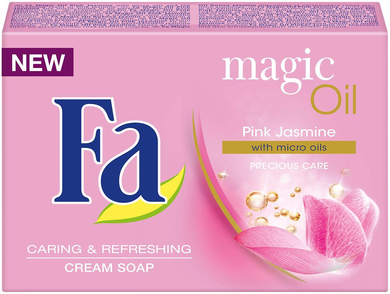 Fa Magic Oil Pink Jasmine mydło w kostce