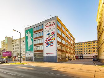 Das Henkel-Werk Wien im Jahr 2017, Ansicht: Erdberger Lände.