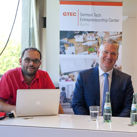 At the GTEC opening