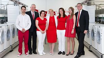 Henkel Bratislava Laboratory team with Thomas Müller-Kirschbaum