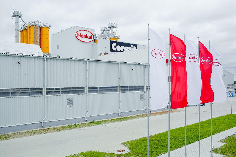 2015-06-16 Henkel opens a new plant in Novosibirsk region 1