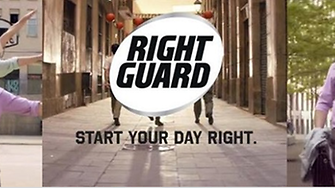 Right Guard's entertaining new campaign