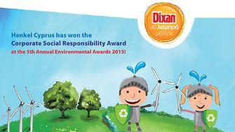 Henkel Cyprus won the Corporate Social Responsibility Award