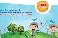 Henkel Cyprus won the Corporate Social Responsibility Award
