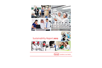 รายงานผลการพัฒนาความยั่งยืน ประจำปี 2012
