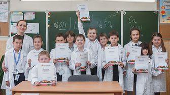 Forscherwelt in Russia