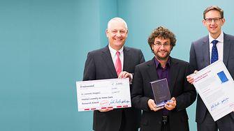 Prof. Dr. Thomas Müller-Kirschbaum (left),  Dr. Michael Dreja, Dr. Leonardo Chiappisi (center)