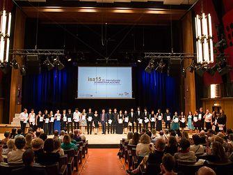 Bei dem Abschlusskonzert im ORF Radiokulturhaus Wien wurden die PreisträgerInnen der diesjährigen Internationalen Sommerakademie (isa) ausgezeichnet