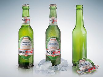 AB InBev relies on Aquence XP adhesives from Henkel to label its Beck's brand beer bottles.
