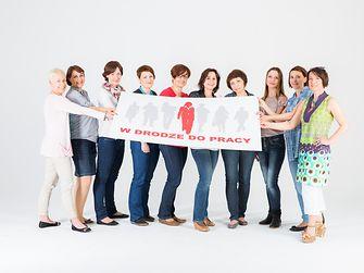 Uczestniczki poprzedniej edycji projektu W drodze do pracy