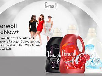 Perwoll Webseite