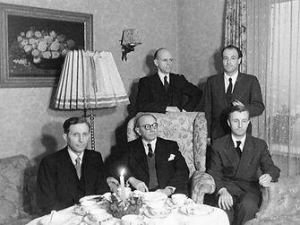 Henkel family in 1947