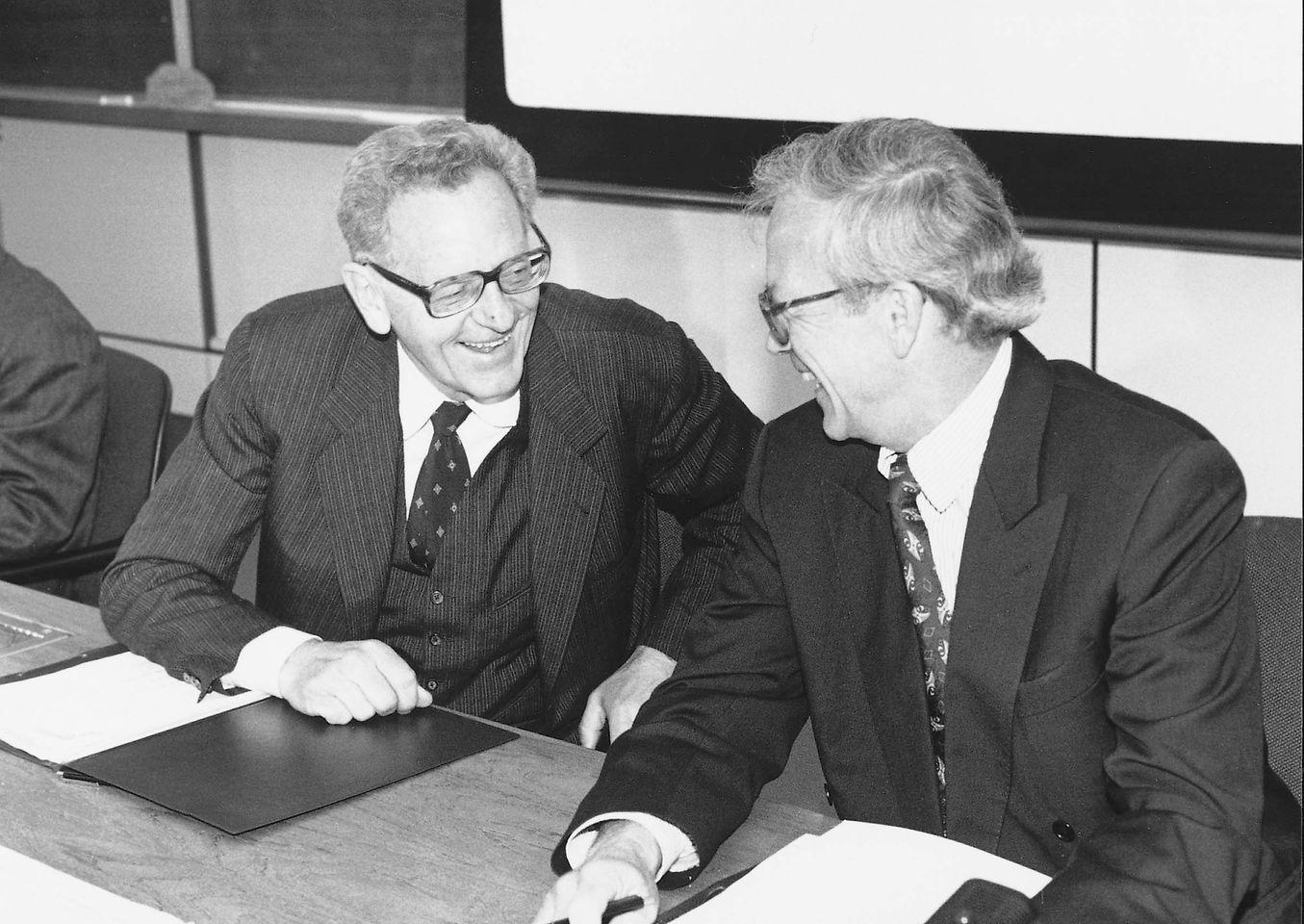 Prof. Dr. Dr. Helmut Sihler, Dr. Hans-Dietrich Winkhaus