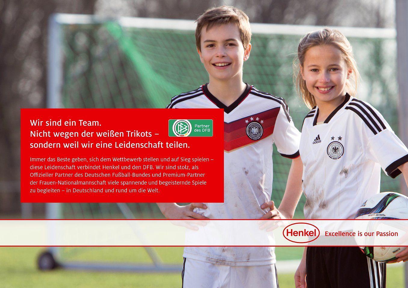 Henkel wird neuer Partner des DFB