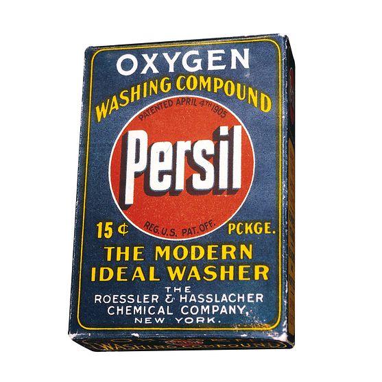 Persil ab 1910 auch in den USA erhältlich