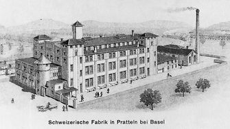 First production subsidiary in Basel-Pratteln, Switzerland