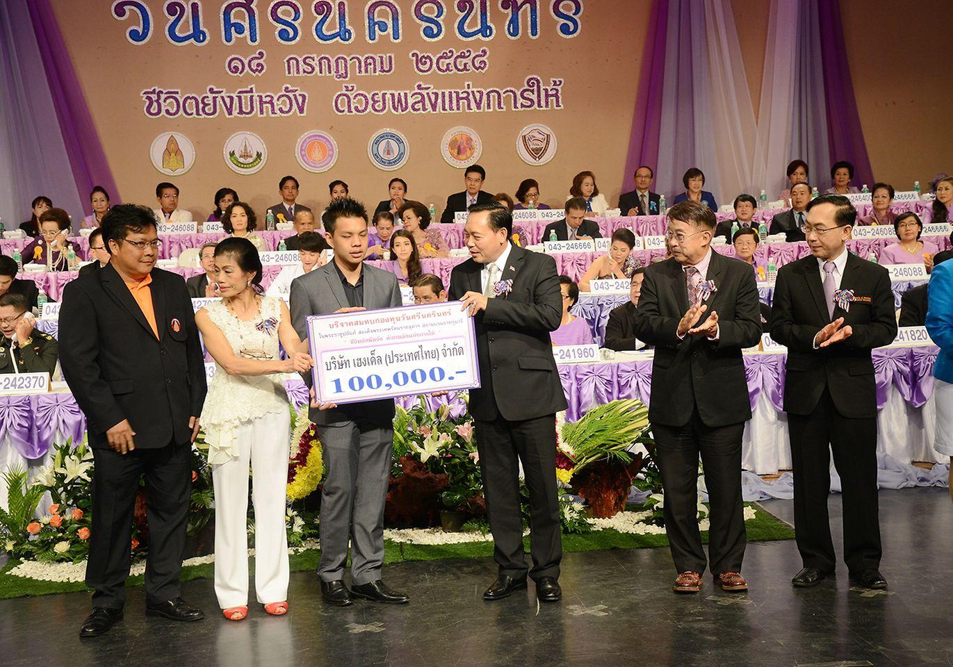 สนับสนุนมูลนิธิศรีนครินทร์ในประเทศไทย