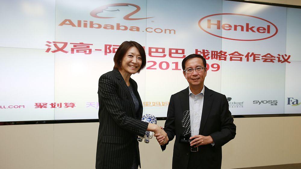 Henkel and Alibaba establish global strategic partnership